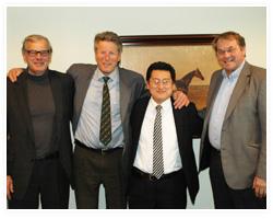 ノルウェー王国バランスマネジメント社の経営陣とオスロでのミーティング